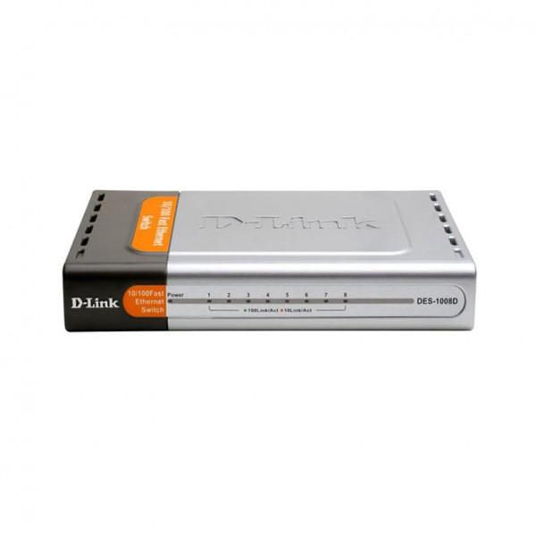 سوئیچ ۸ پورت دی لینک مدل DES-1008D
