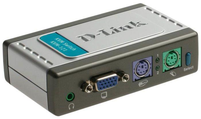s,md] سوئیچ با پشتیبانی صوتی KVM-121