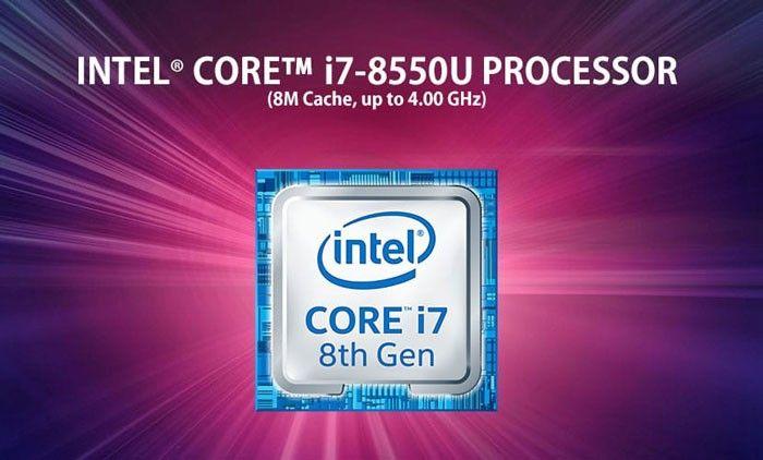 پردازنده Core i7 لپتاپ K542UF-i7