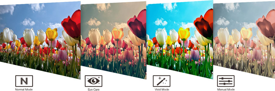 تکنولوژی Splendid در لپ تاپ X543MA-N4000