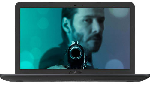 کیفیت تصویر فول اچ دی لپ تاپ X543MA-N4000