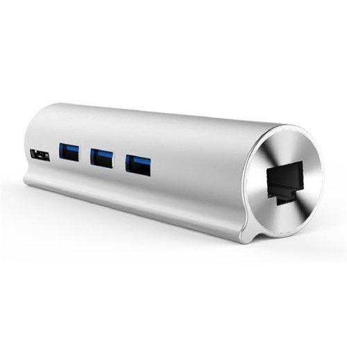 هاب Type C به USB و LAN یونیتک Y-3095