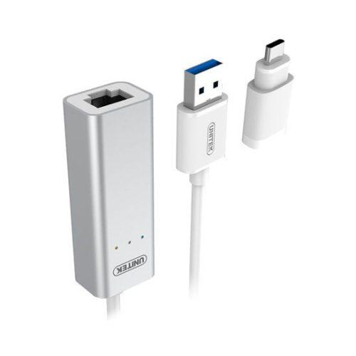 کابل تبدیل USB 3.0 به LAN یونیتک Y-3464A