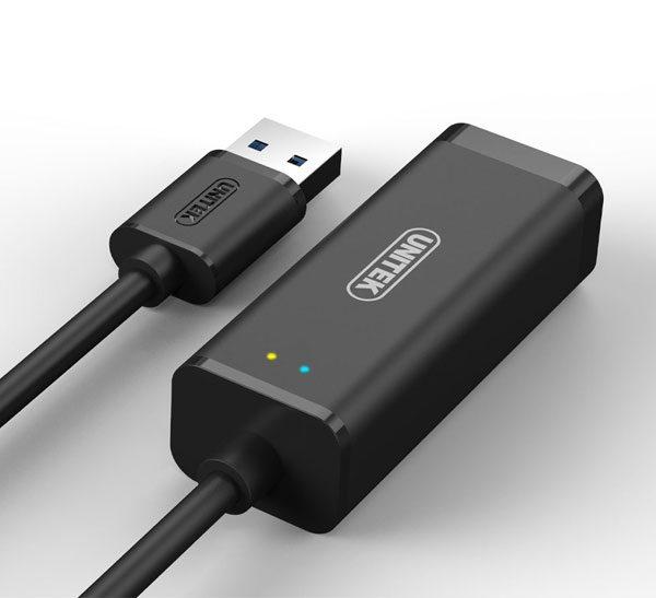 کابل تبديل USB 3.0 به LAN یونیتک Y-3470
