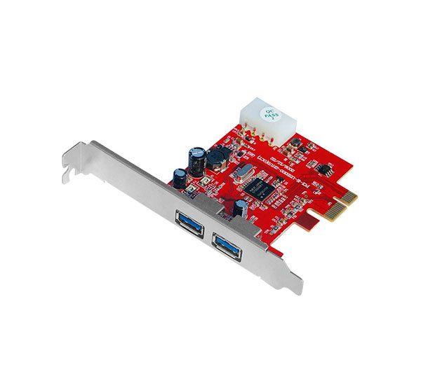 کارت PCI Express دو پورت USB3.0 یونیتک Y-7301