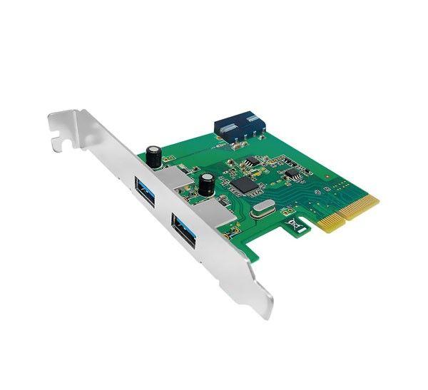کارت PCI Express دو پورت USB3.1 یونیتک Y-7305