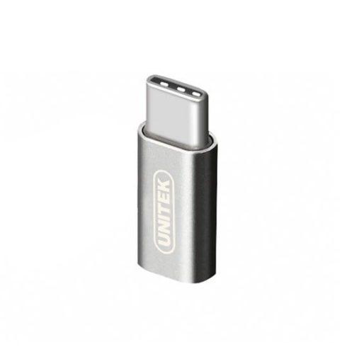 مبدل Type C به میکرو USB یونیتک Y-A027AGY