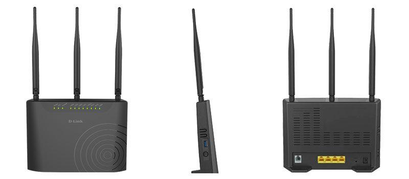 مودم روتر +VDSL2/ADSL2 دی لینک مدل DSL-2877AL