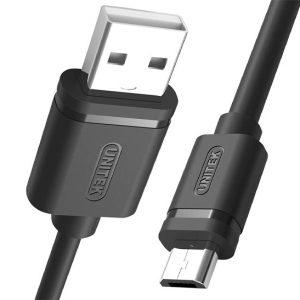 کابل شارژر Micro USB یونیتک C4050BK