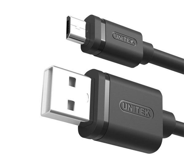 کابل شارژر Micro USB به USB یونیتک Y-C455GBK