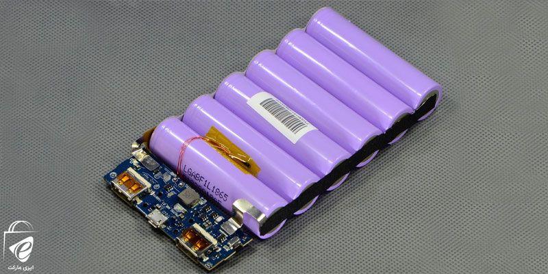 باتریهای داخلی این دستگاهها