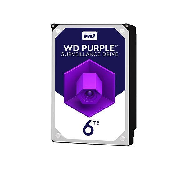 هارد اینترنال ۶ ترابایت وسترن Purple