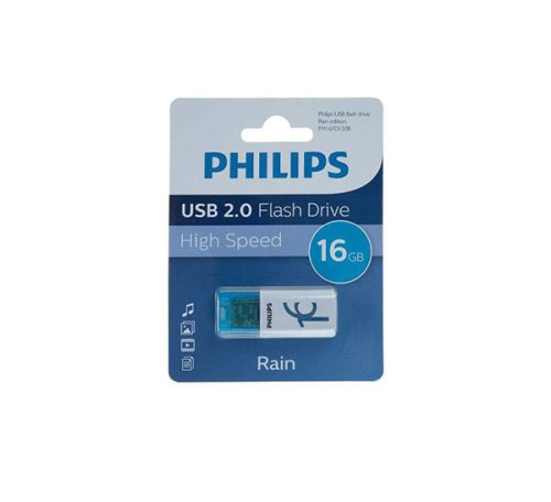 فلش USB 2.0 فیلیپس rain ظرفیت ۱۶ گیگابایت