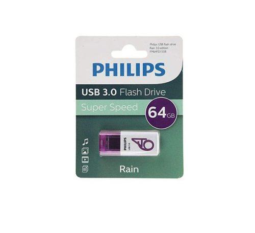فلش USB 3.0 فیلیپس rain ظرفیت ۶۴ گیگابایت