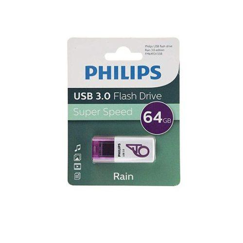 فلش USB 3.0 فیلیپس rain ظرفیت 64 گیگابایت