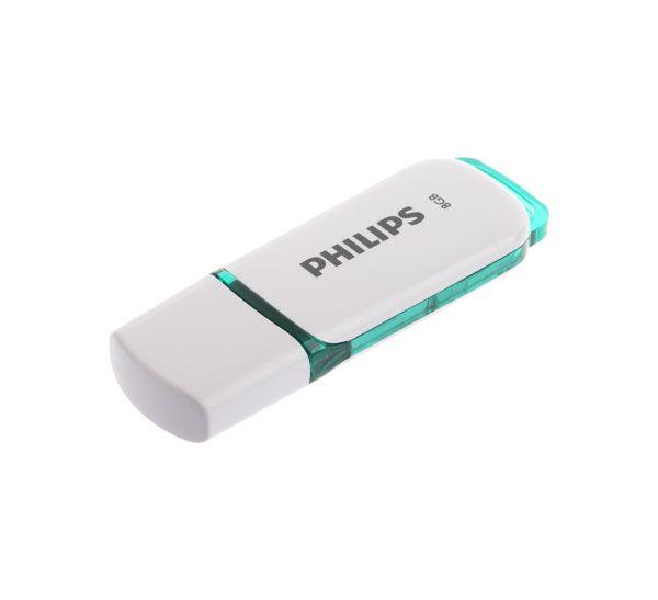 فلش USB 2.0 فیلیپس snow ظرفیت 8 گیگابایت