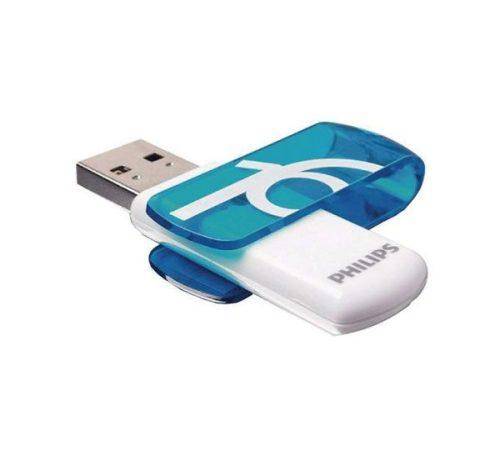 فلش USB 2.0 فیلیپس vivid ظرفیت ۱۶ گیگابایت