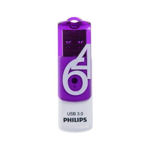 فلش USB 3.0 فیلیپس vivid ظرفیت 64 گیگابایت