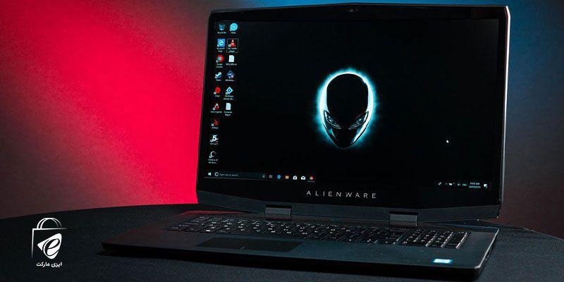 نمایشگر حرفه ای مدل Alienware m17 R4