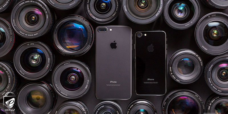 دوربینهای گوشی موبایل آیفون