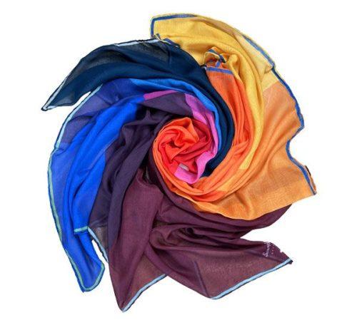 روسری نخی زنانه colors party