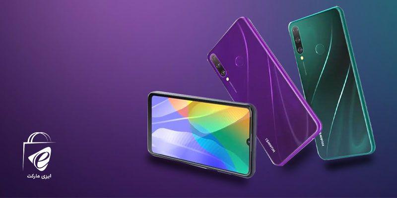گوشی موبایل هوآوی مدل Y6p در سه رنگ زیبا!